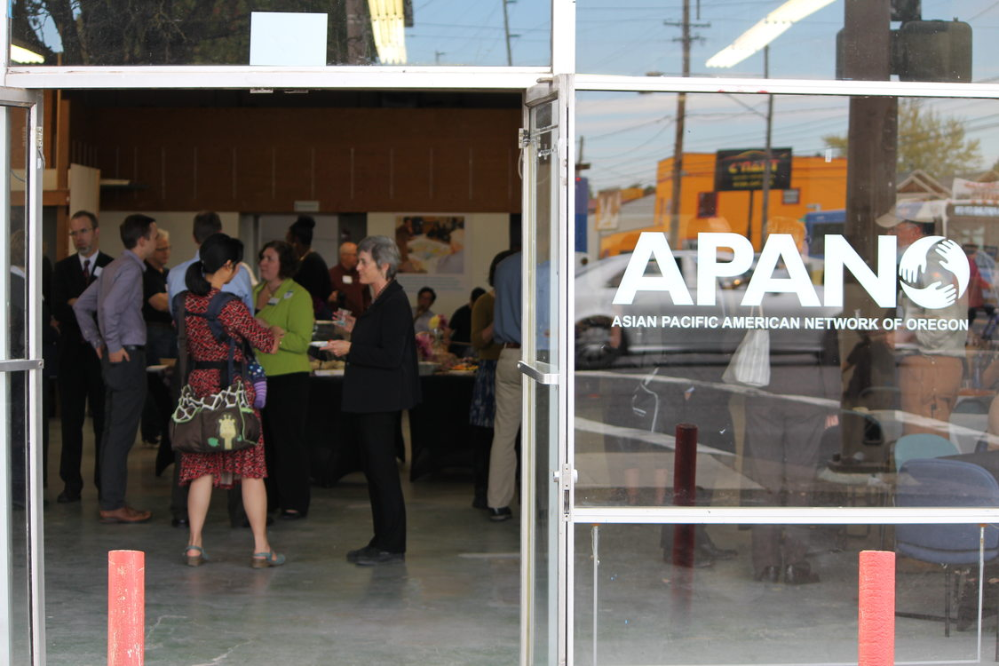 Reception at Jade/APANO space for Powell-Division project