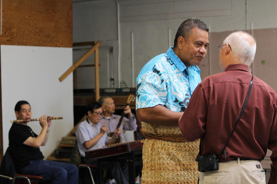Kolini Fusitua at Powell-Division Reception