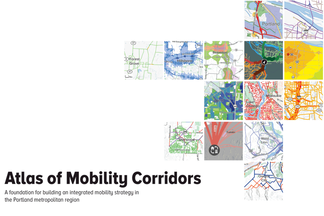 cover of mobility corridors atlas