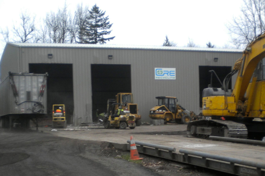 photo of City of Roses Recycling facility