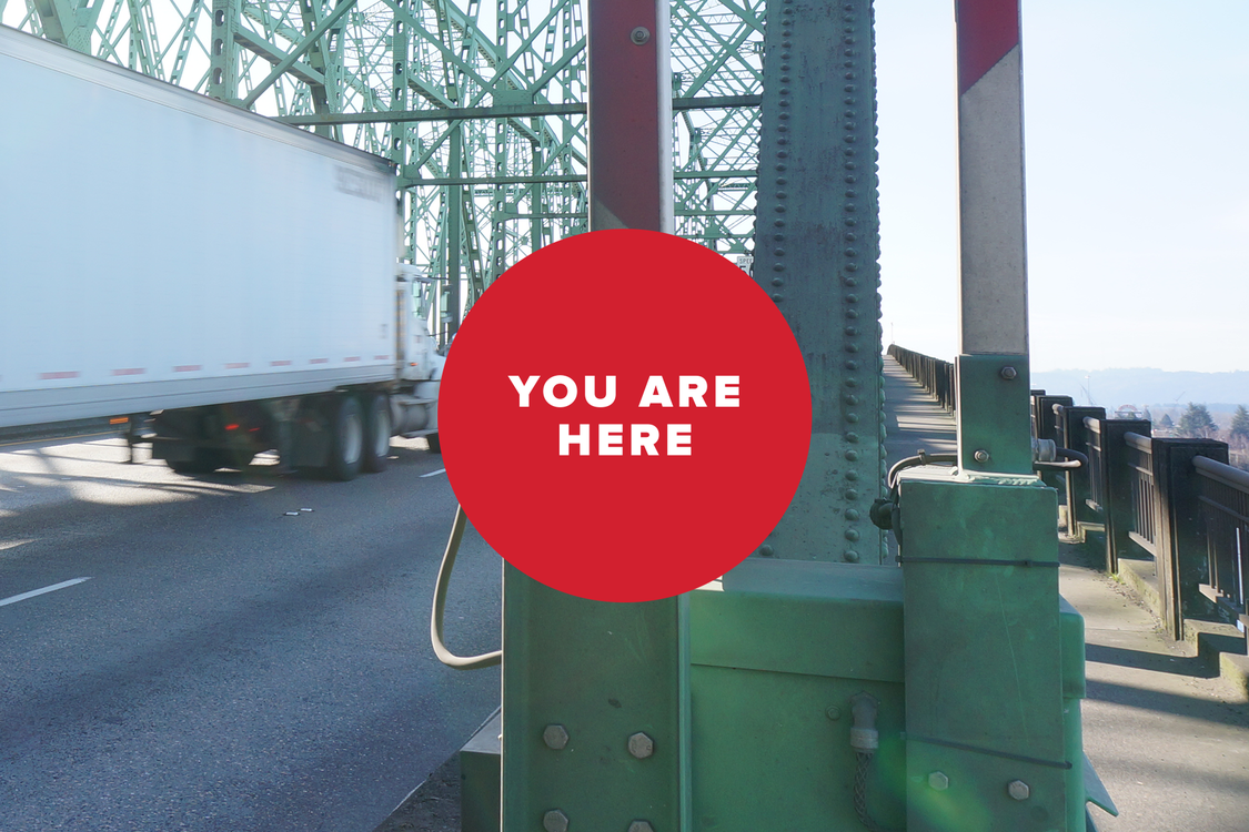 You are here: Interstate Bridge