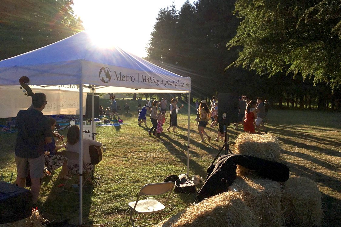 event at Howell Territorial Park