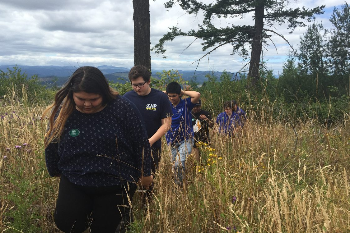 photo of Chehalem Ridge practice tour
