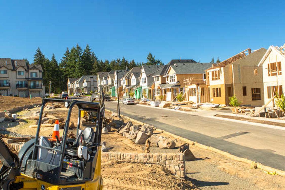 Villebois housing construction