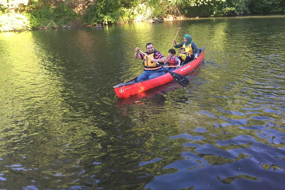 Canoeing the Tualatin River