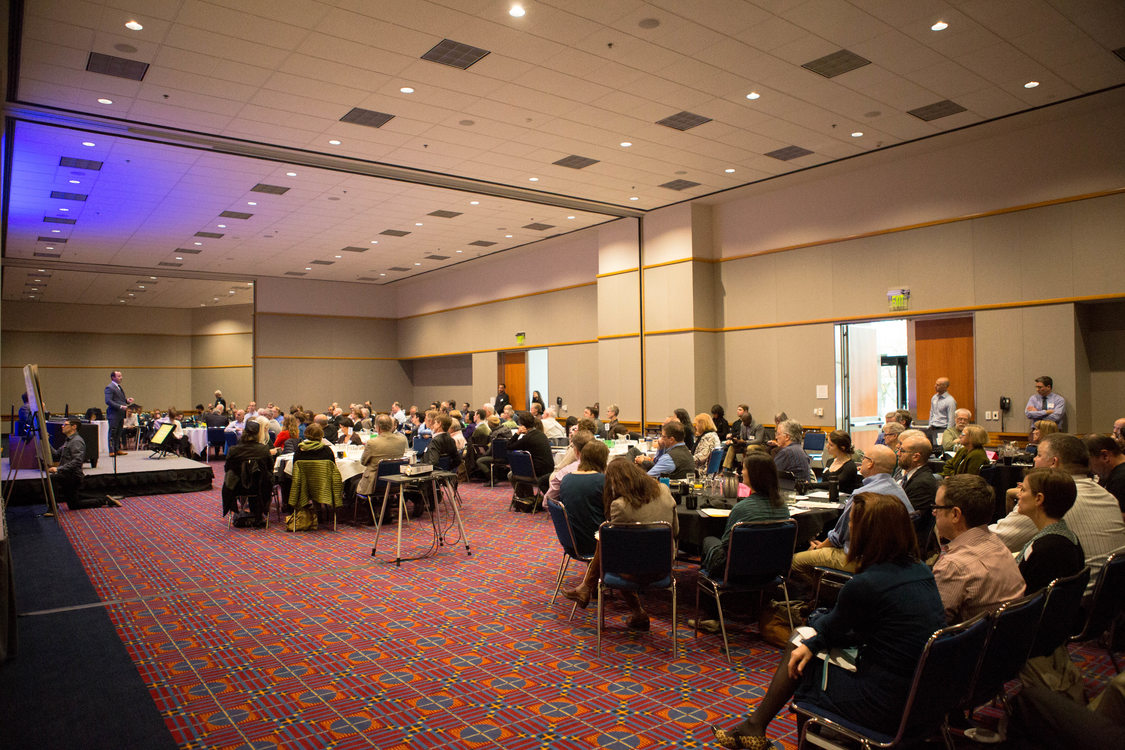 A view of the room at the Regional Leadership Forum, Friday Dec. 2, 2016