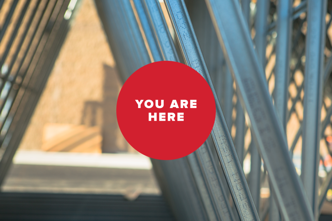 You Are Here: Construction Beams