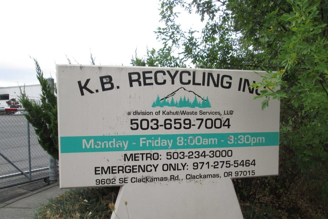 KB Recycling facility