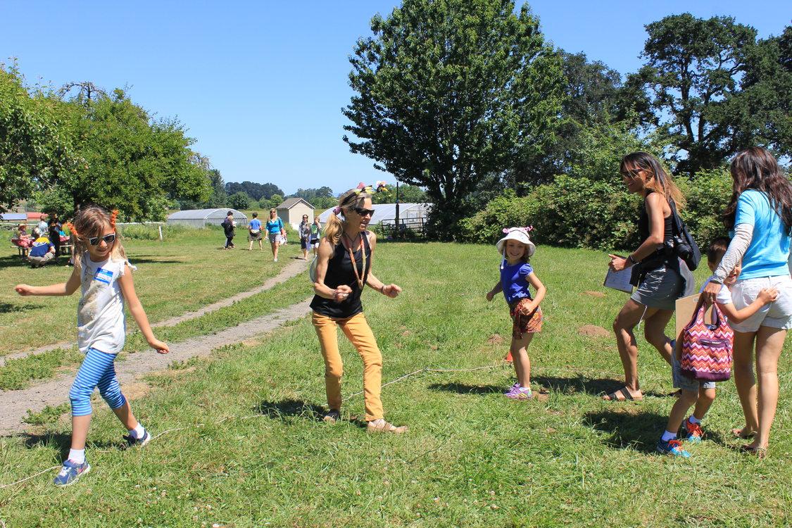 photo of waggle dance at Pollination Celebration