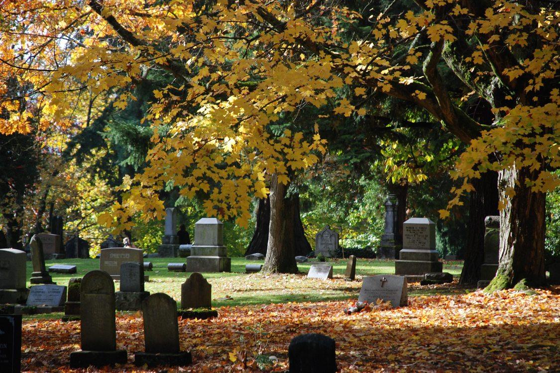 photo of Lone Fir Cemetery