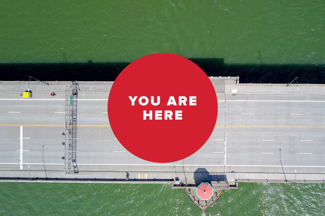 You are here: Burnside Bridge