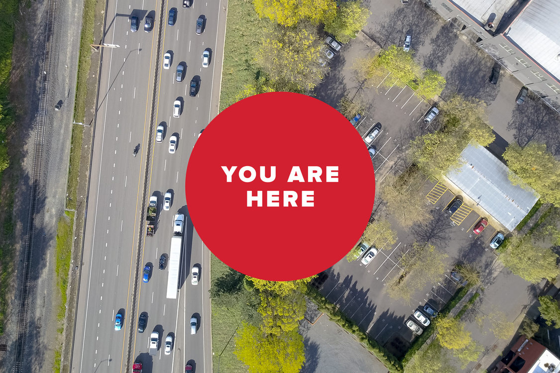 You are here: Freeway traffic