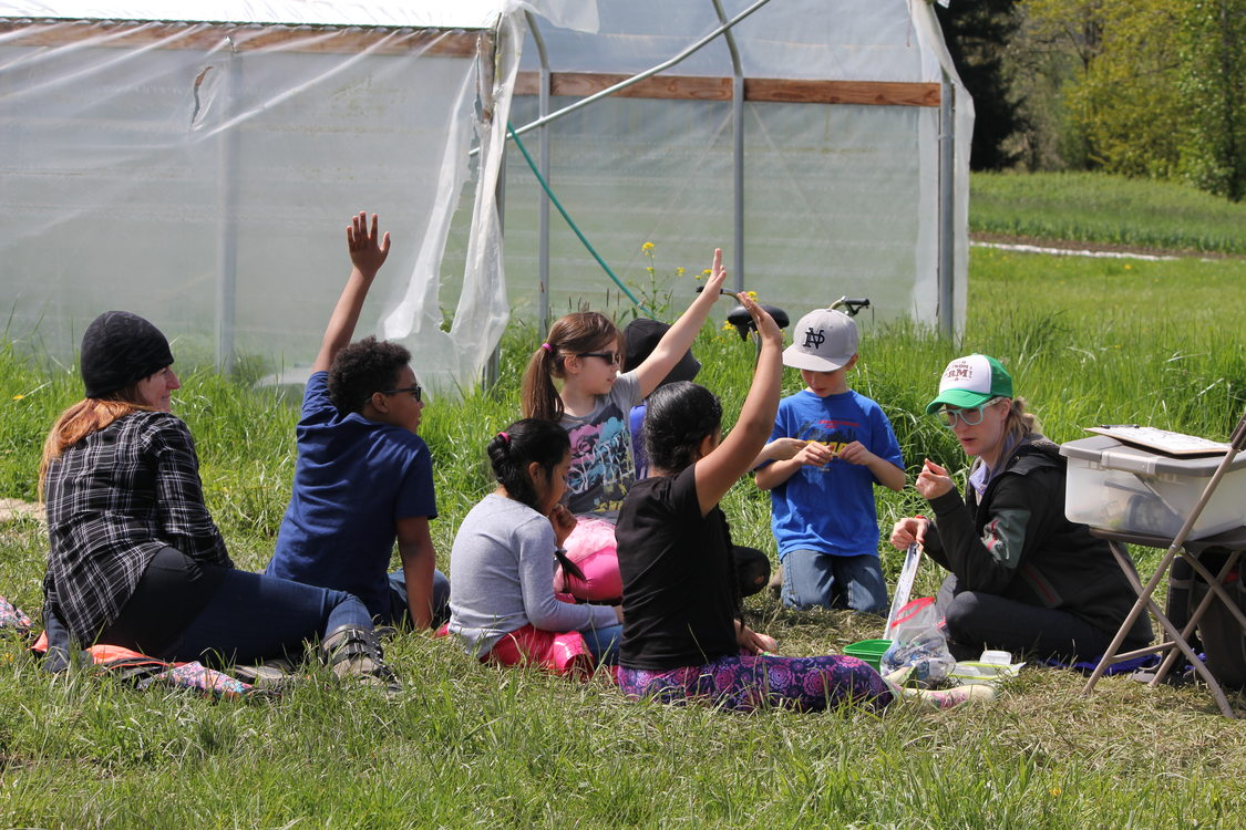 A hands-on science learning opportunity for third graders on Sauvie Island.