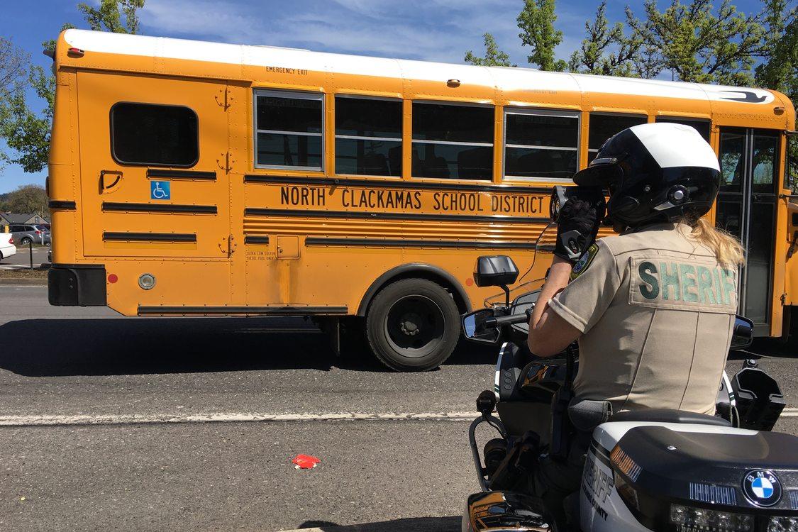 Bilquist Elementary School bus