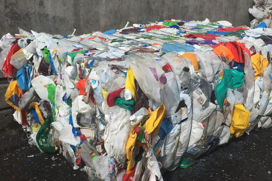 So we can send less recycling to