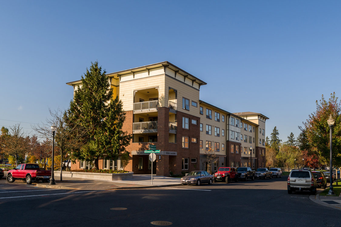 The Alma Garden Apartments at Orenco Station in Hillsboro