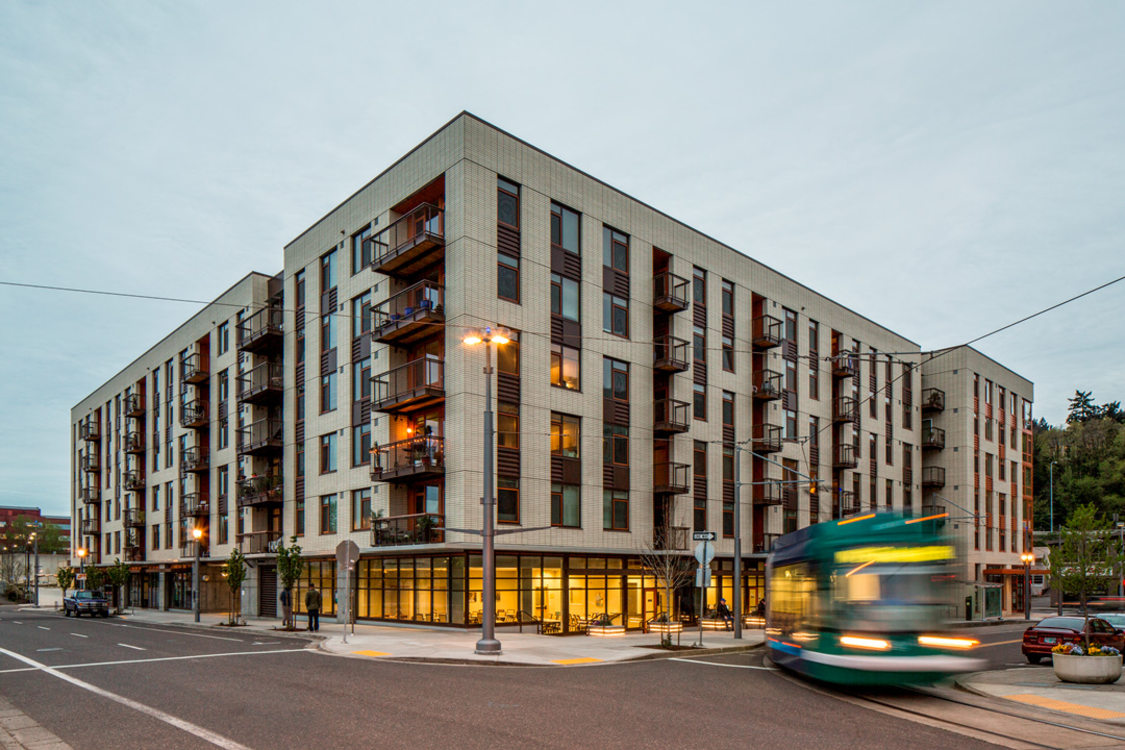 Grays Landing apartments in south waterfront in Portland