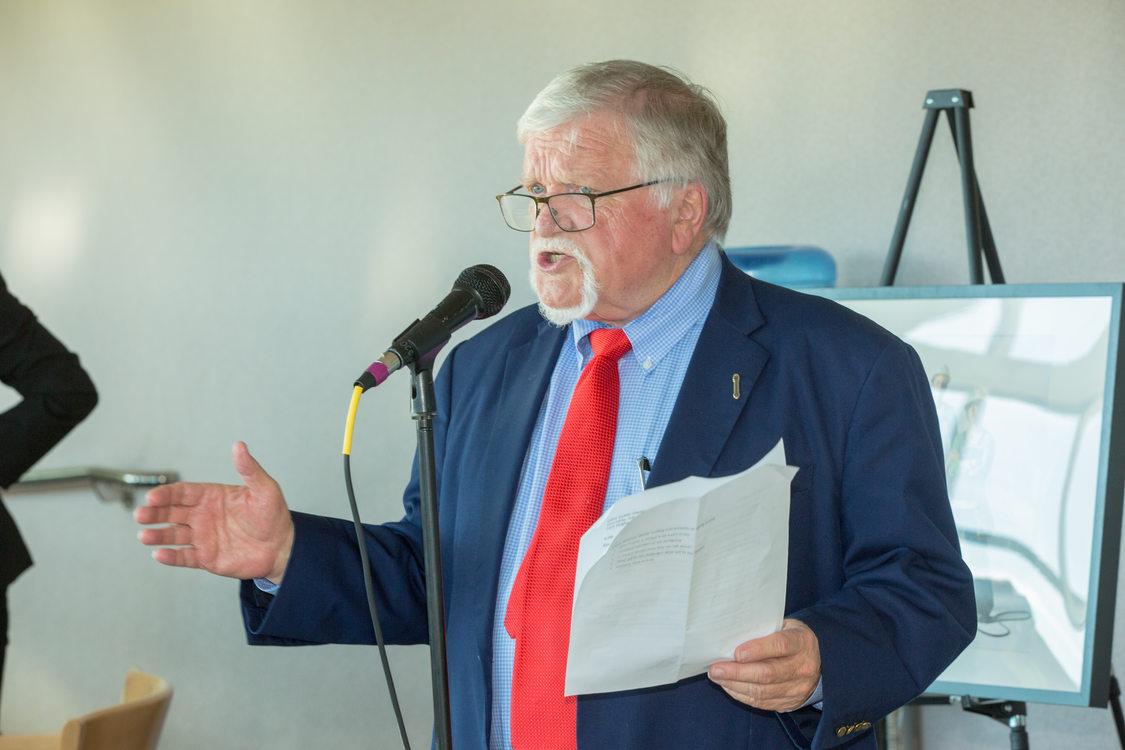 Photo of Metro Council President Tom Hughes.
