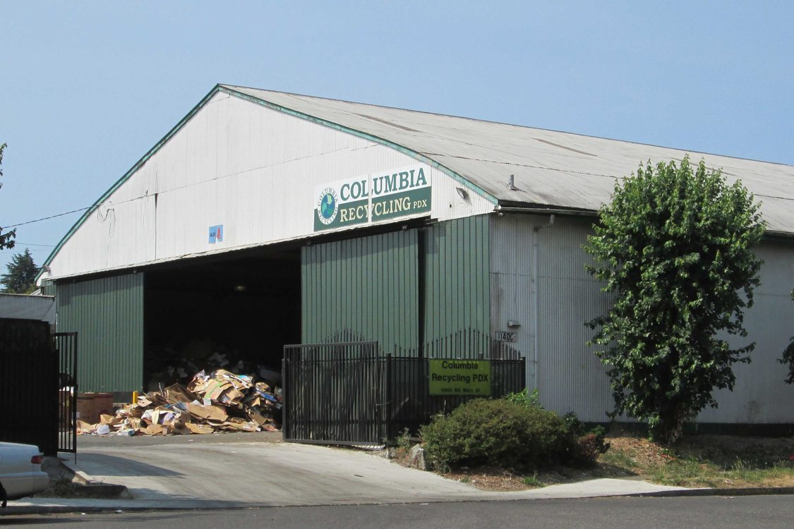 Image of Columbia Recycling PDX