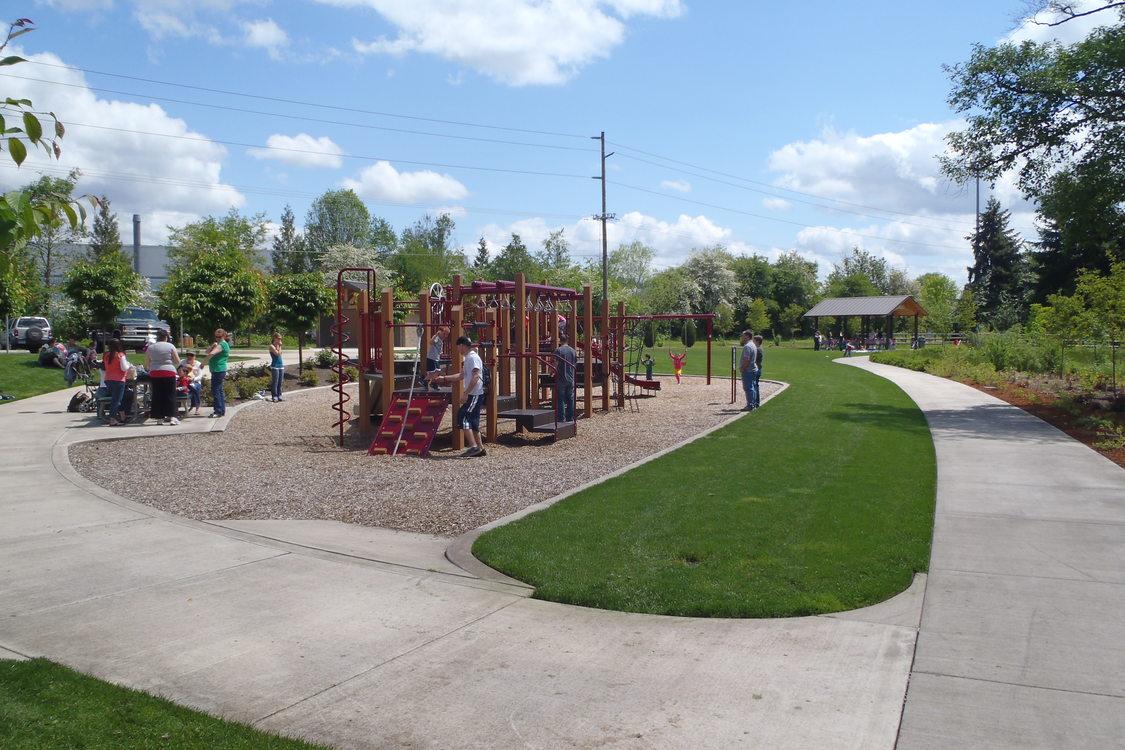 Photo of kids playing on playground