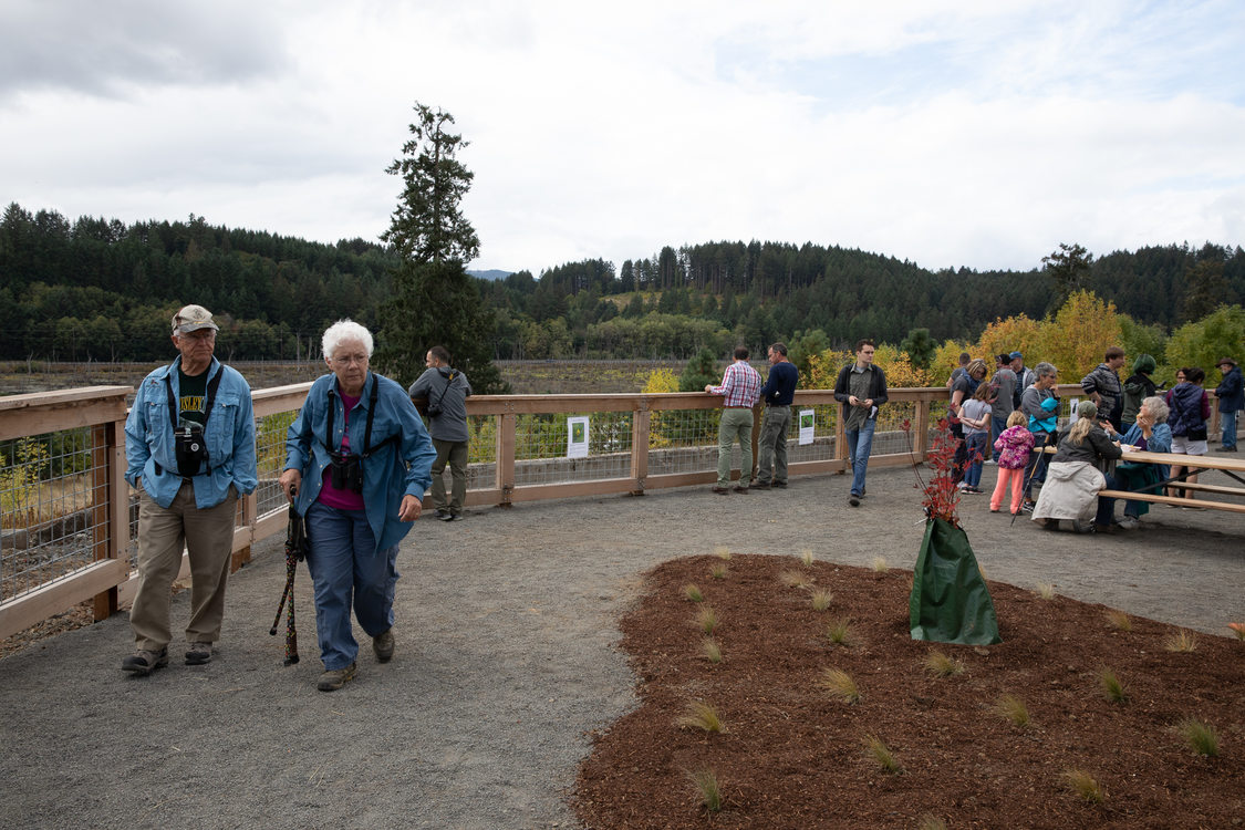 photo of Killin Wetlands Nature Park grand opening
