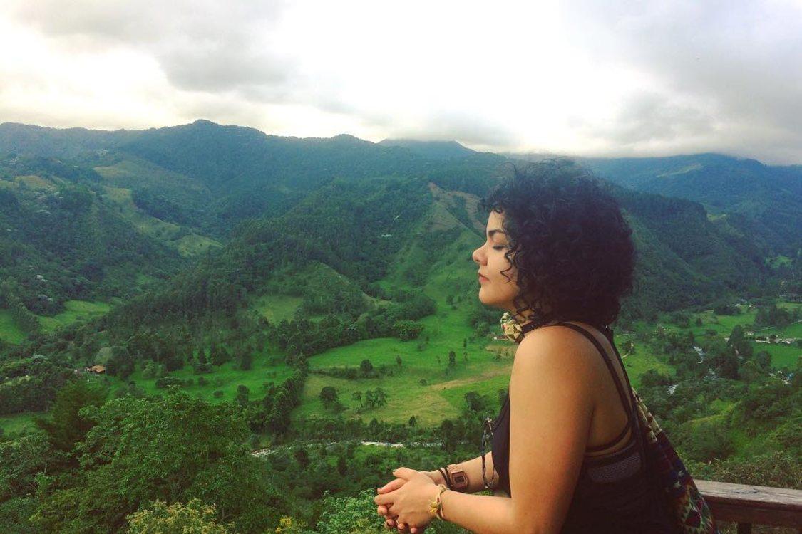 photo of Sofía Basto in Quindío, Colombia