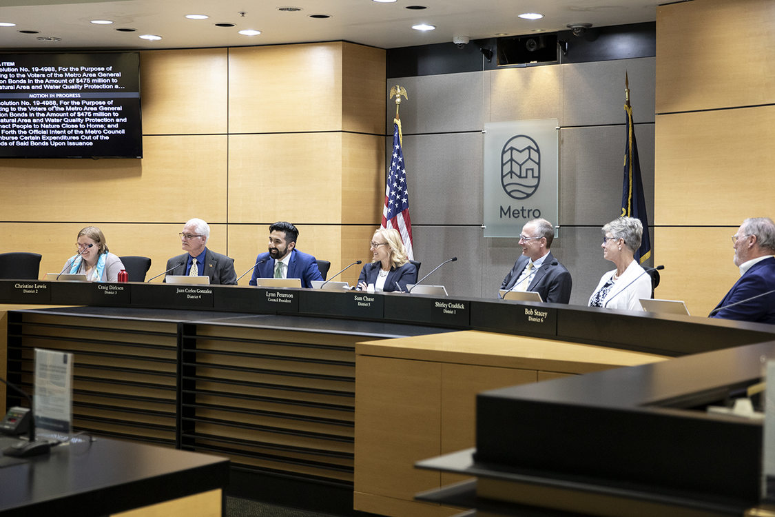 photo of Metro Council at June 6, 2019 meeting