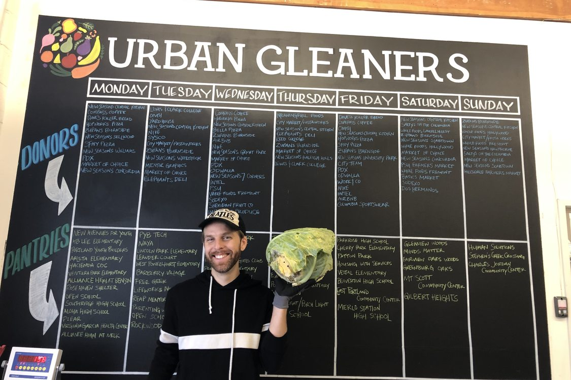 Donation schedule at Urban Gleaners
