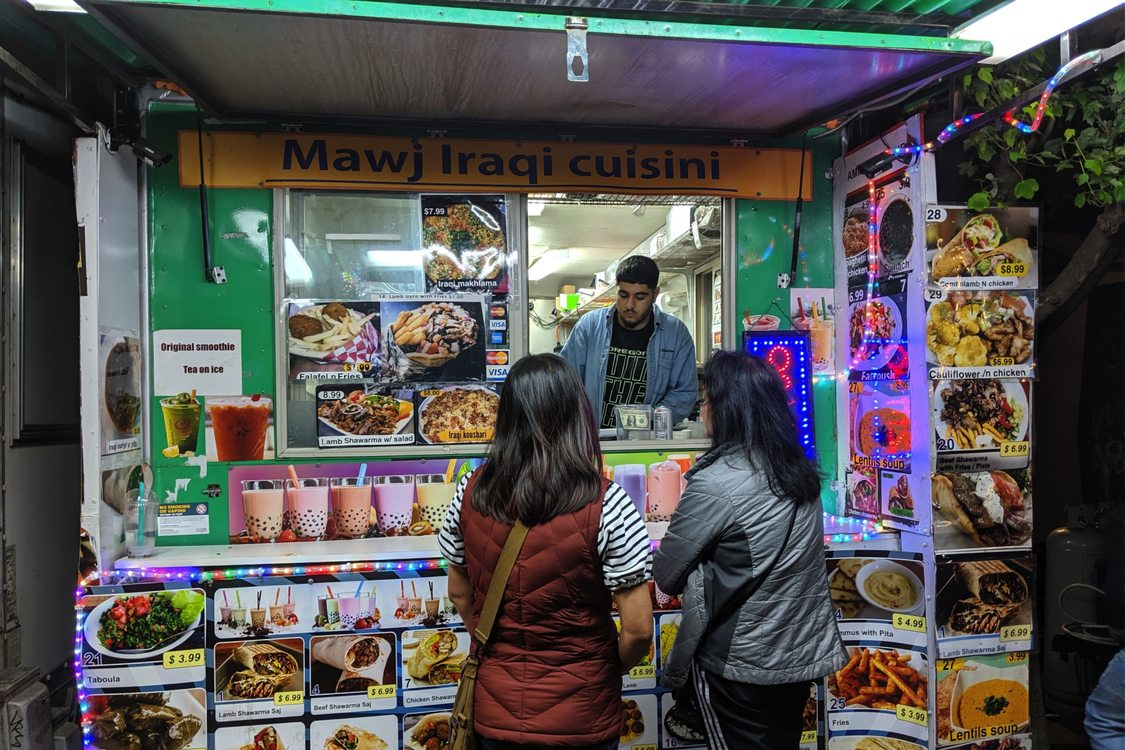 photo of Mawj Iraqi Cuisine food cart