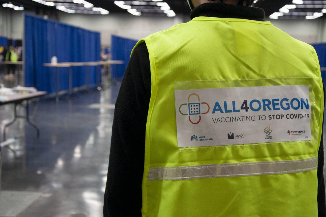 All4Oregon vest logo