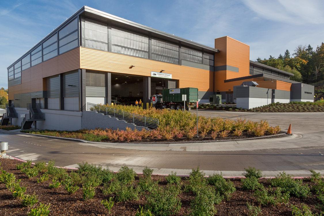 Factoria transfer center in King County