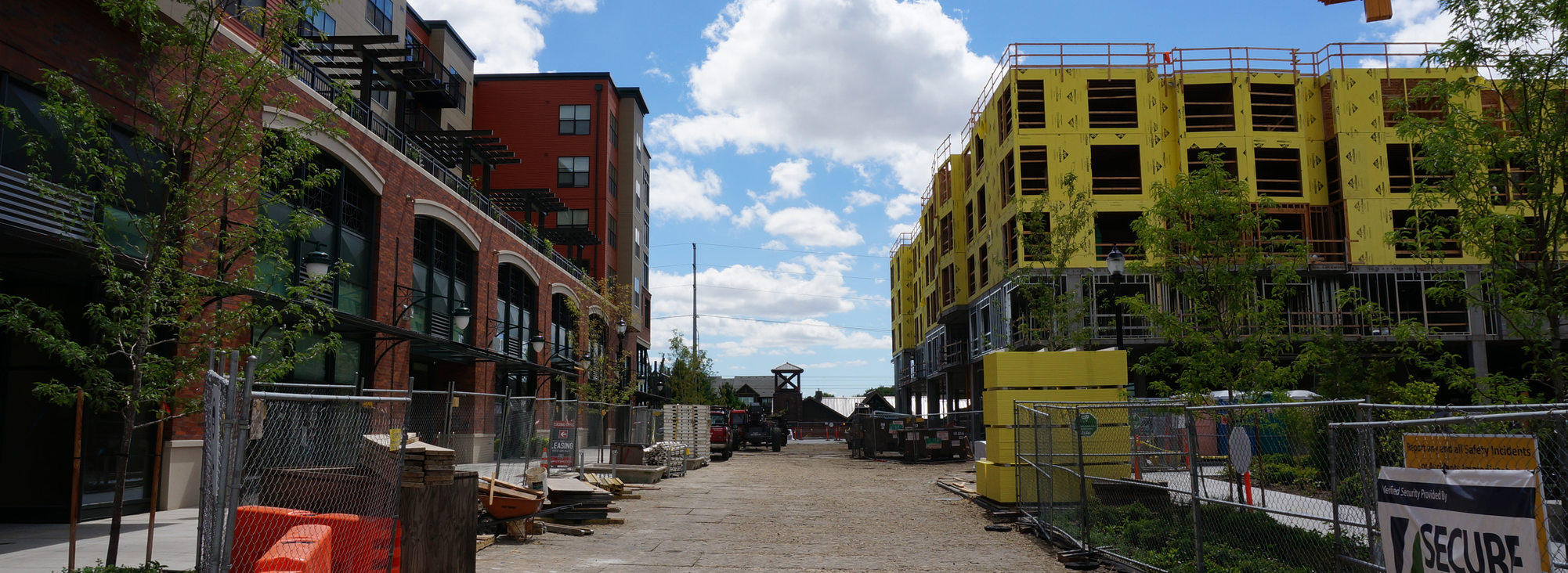 Construction in the Orenco Platform District