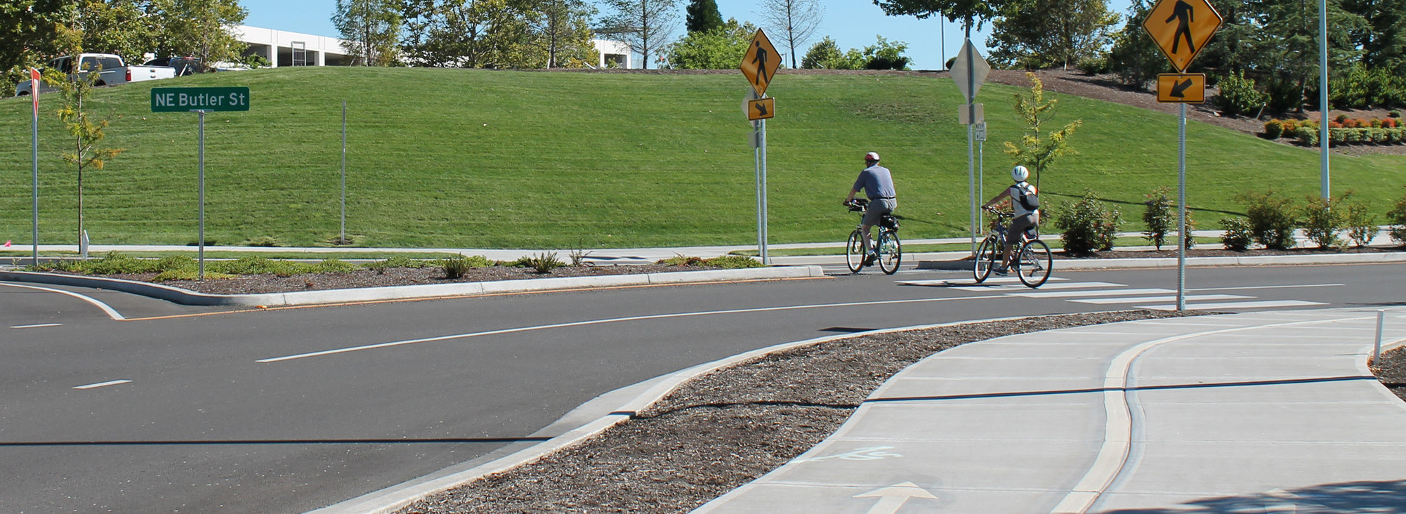 Bicycling in Orenco Station
