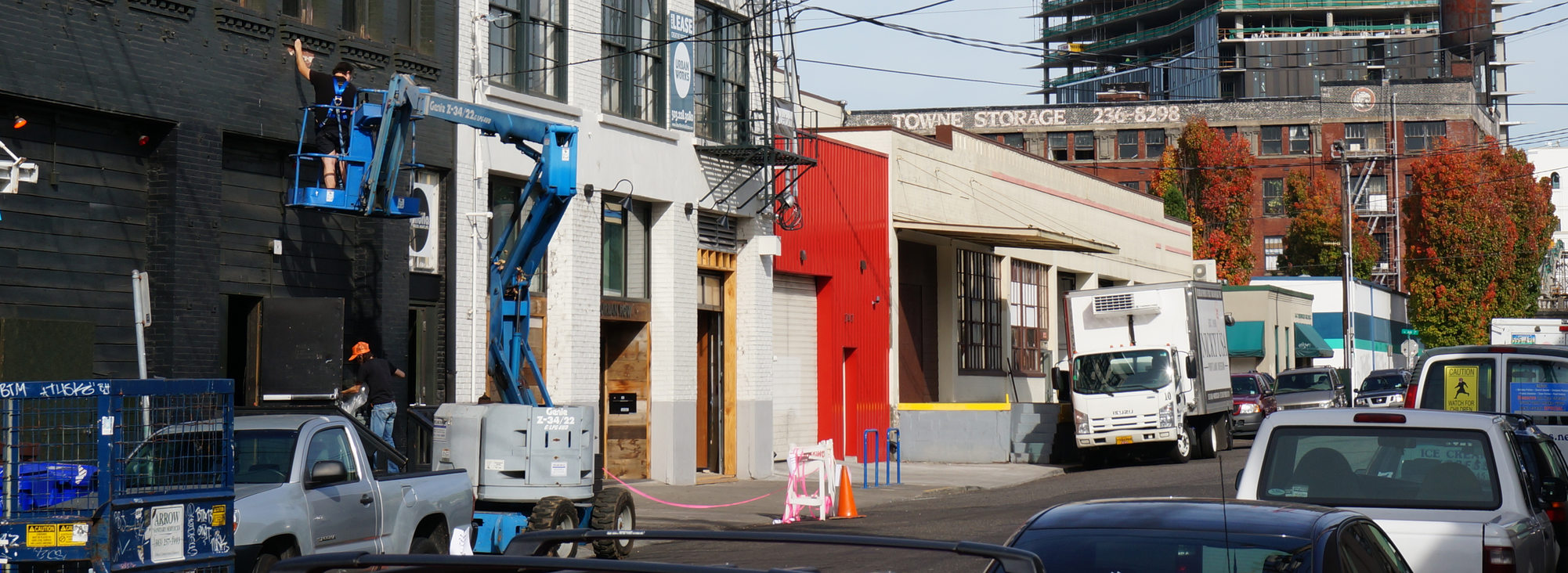 Activity on Portland's eastside