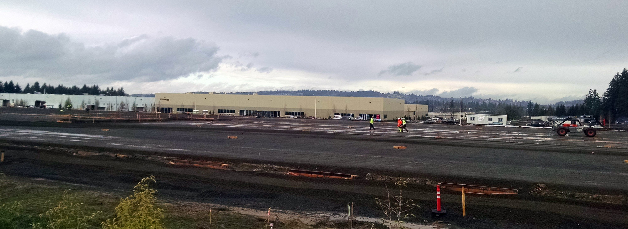 Tualatin Sherwood Road industrial development