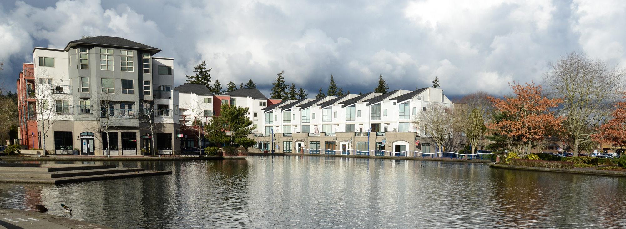 Tualatin Commons Lake