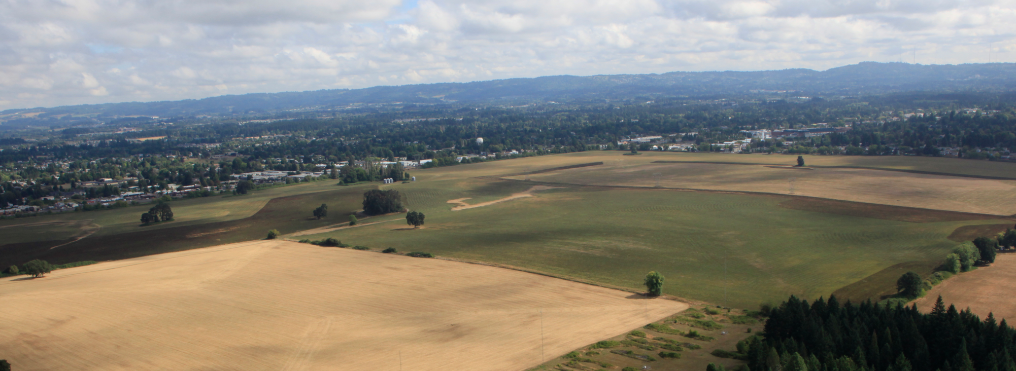 Aerial view of South Hillsboro