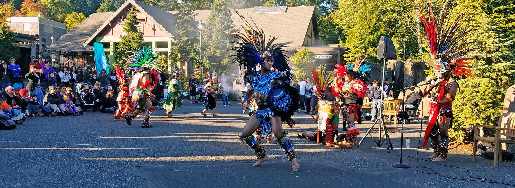 Mexica Tiahui Aztec Dance Group 2