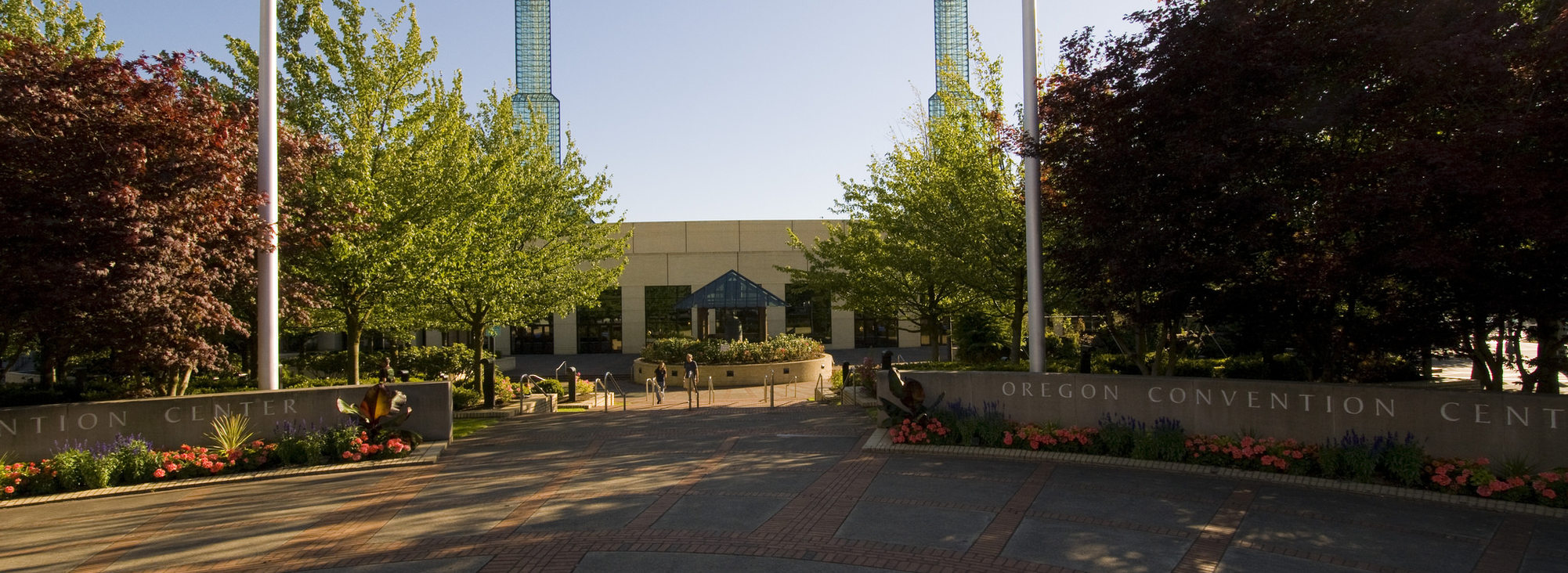 Oregon Convention Center plaza