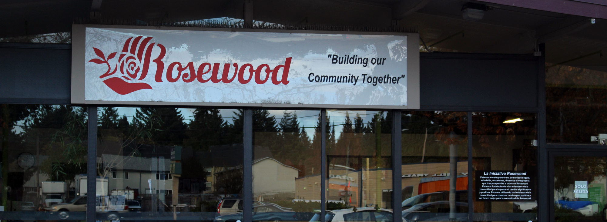 Photo of Rosewood Initiative's building