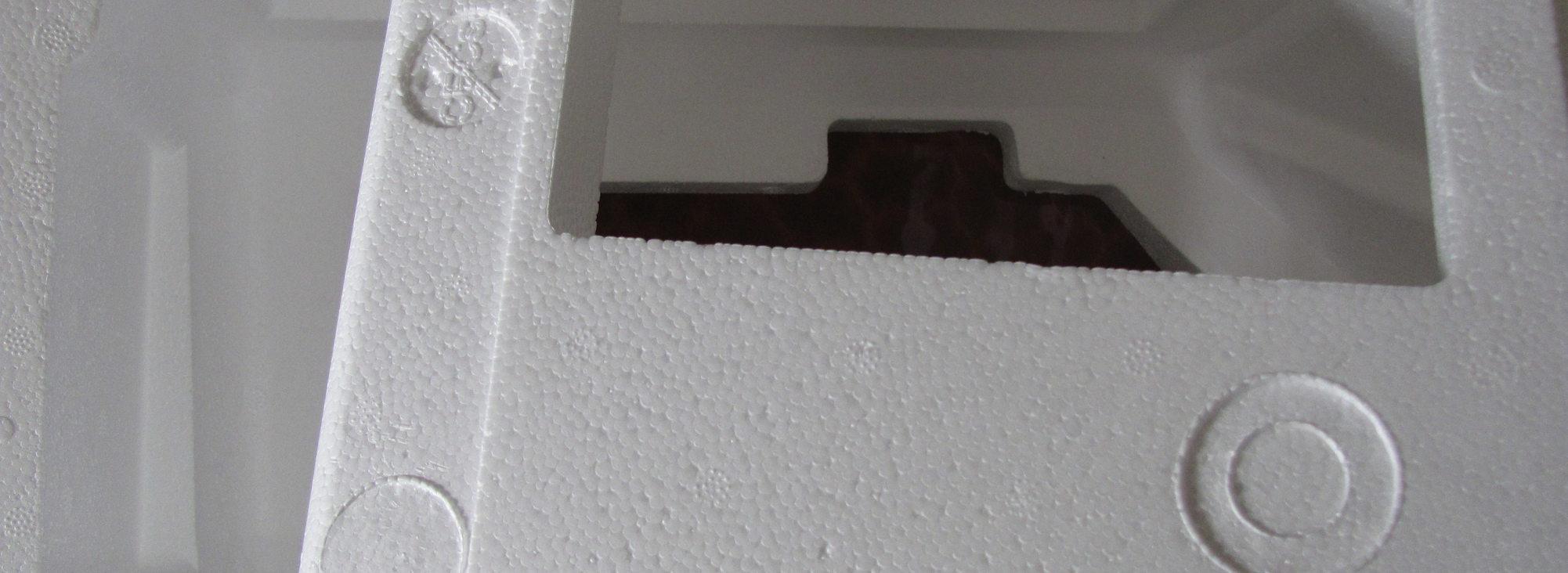 blocks of Styrofoam