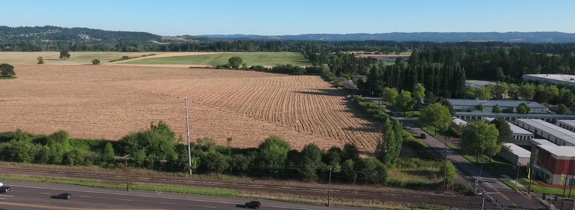 South Hillsboro aerial