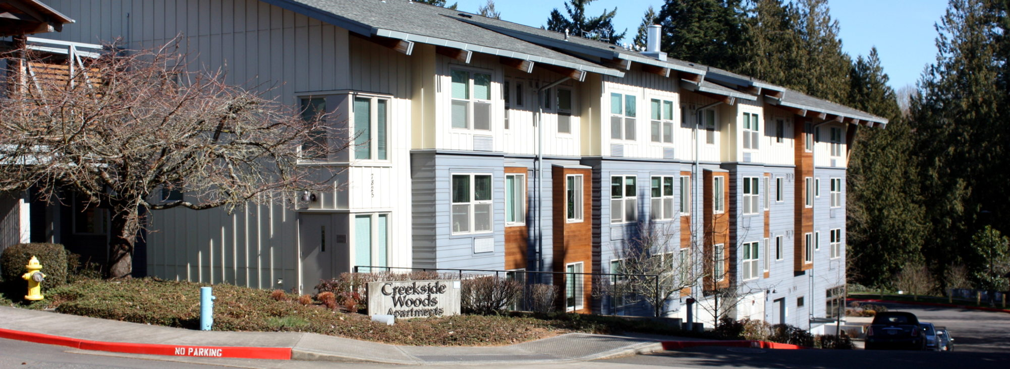 Creekside Woods Apartments in Wilsonville, Oregon