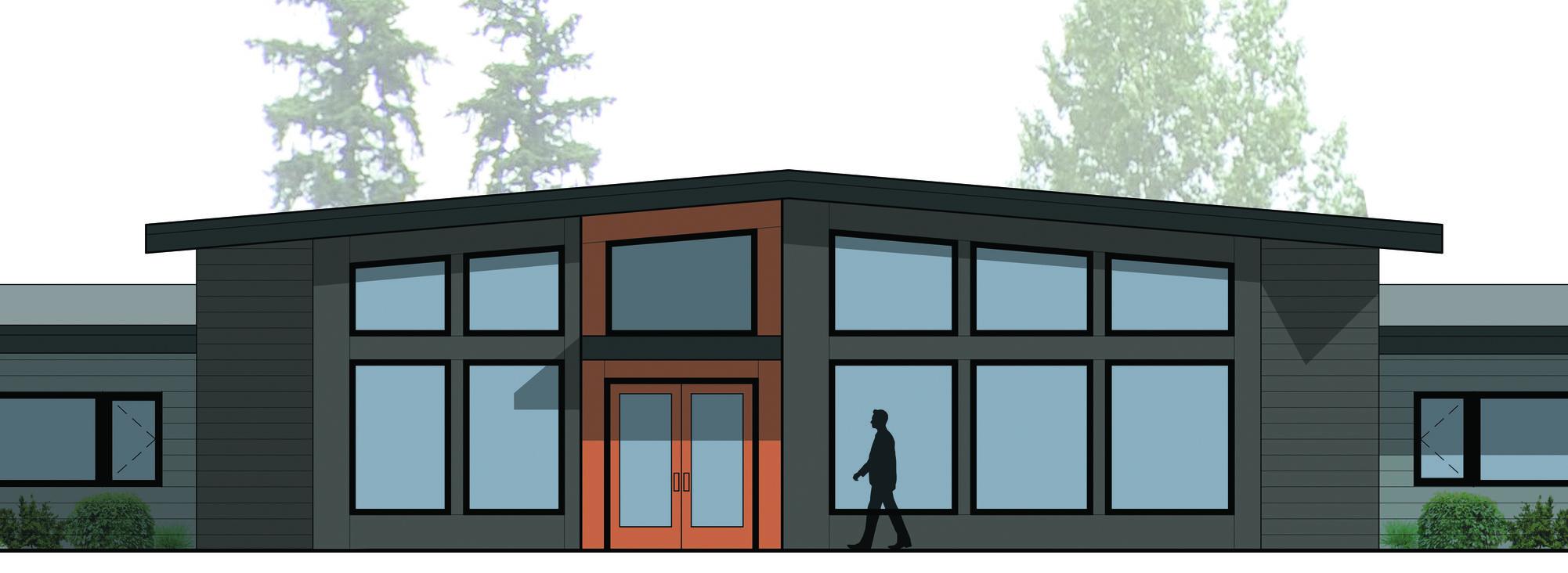 rendering of 18000 Webster Road apartments