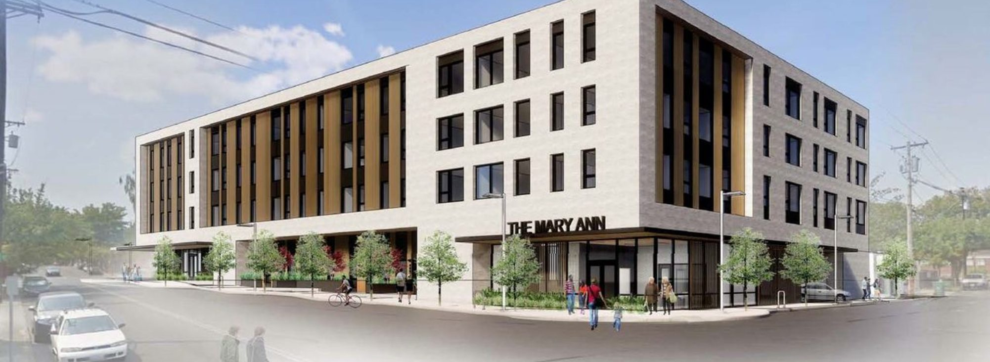 rendering of Mary Ann apartments
