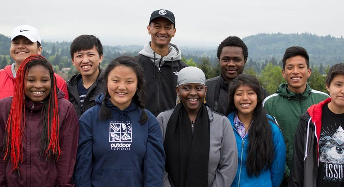 youth leaders from the Audubon TALON group