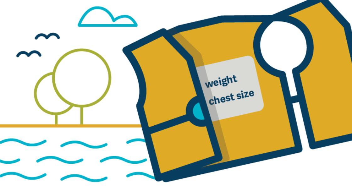 A cartoon image of a life jacket.