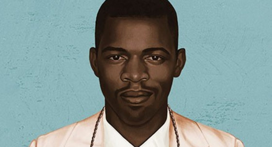"publicity image of Congressman John Lewis wearing a sign around his neck reading ""John Lewis: Good Trouble"" for the film of the same name"