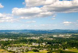 aerial photo of Hillsboro