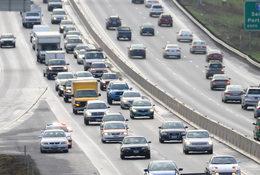 Traffic on Highway 217